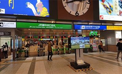 仙台駅(JR)からのアクセス