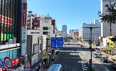 JR宇都宮駅からのアクセス