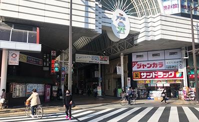 天文館通駅からのアクセス
