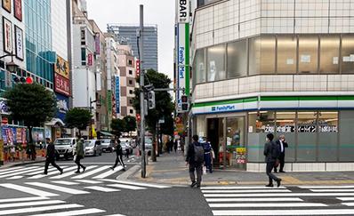 新橋駅からのアクセス