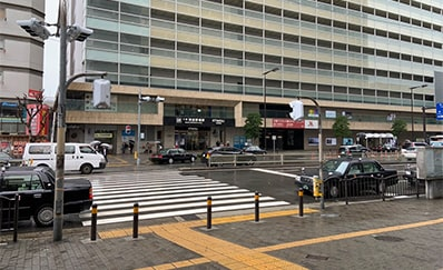 天王寺駅からのアクセス