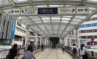 立川駅からのアクセス
