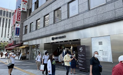 錦糸町駅からのアクセス