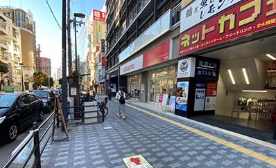 京橋駅(京阪)からのアクセス