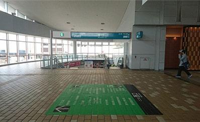 秋田駅からのアクセス