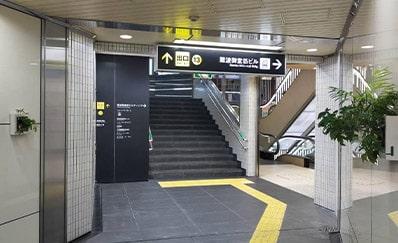 なんば駅からのアクセス