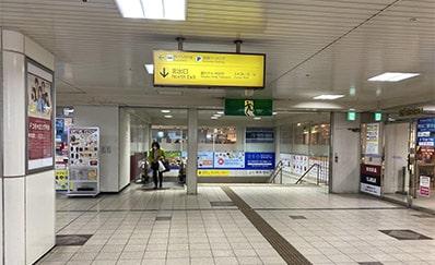 近鉄四日市駅からのアクセス