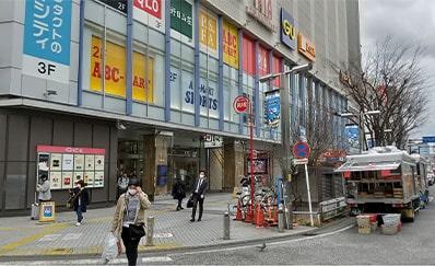 京急川崎駅からのアクセス