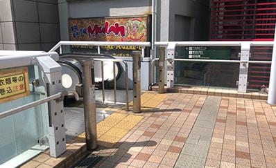 北千住駅からのアクセス