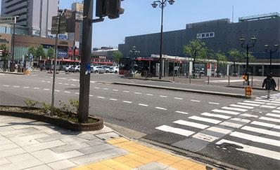 新潟駅からのアクセス