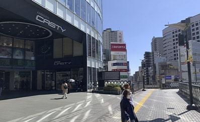 川口駅からのアクセス