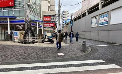 町田駅(小田急)からのアクセス