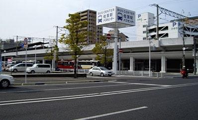 佐賀駅(JR)からのアクセス