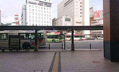 長野駅(善光寺口)からのアクセス